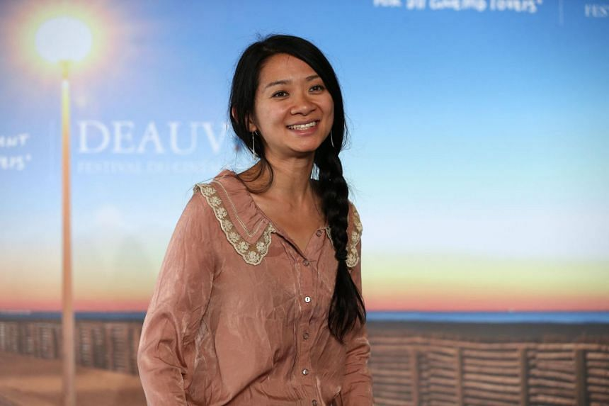 Chloe Zhao became the first Asian woman to win a Golden Globe for best director for Nomadland.
