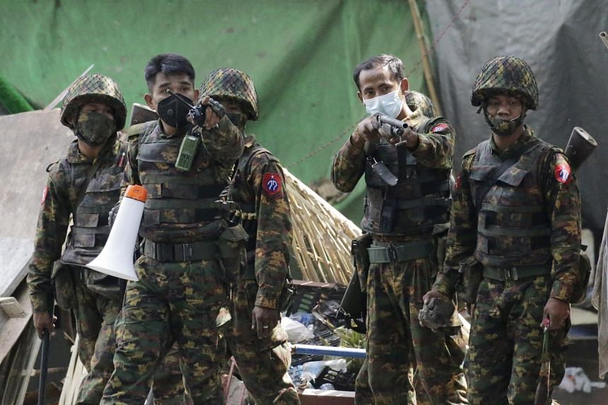 The junta told security forces to avoid using live bullets, but protesters were reportedly still being shot with them.