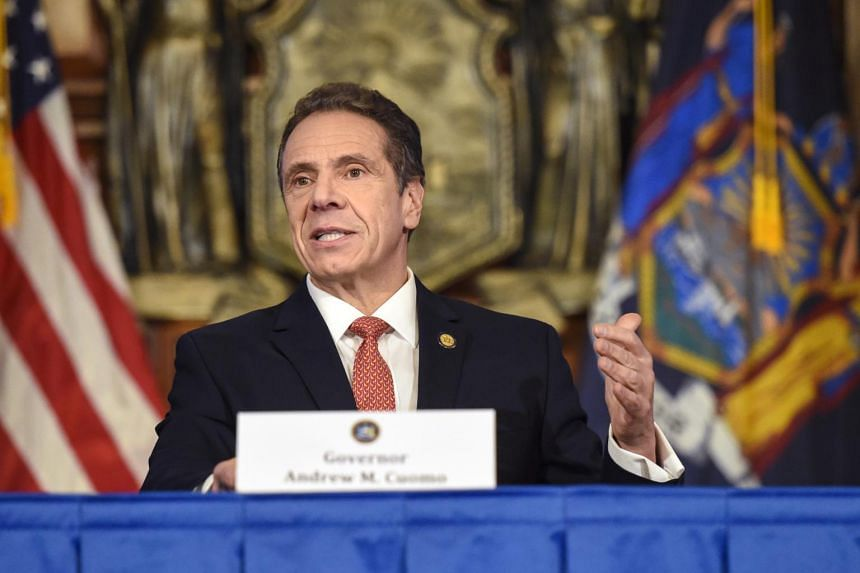 New York Governor Andrew Cuomo referred himself for investigation on Monday over sexual misconduct allegations by two former aides.
