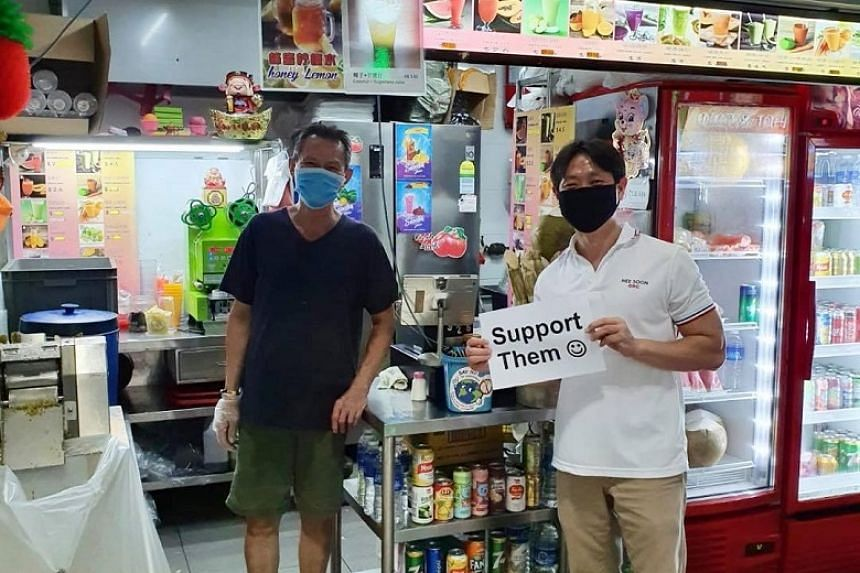 Nee Soon GRC MP Louis Ng had posted about his trip to Yishun Park Hawker Centre on Facebook on June 20, 2020.