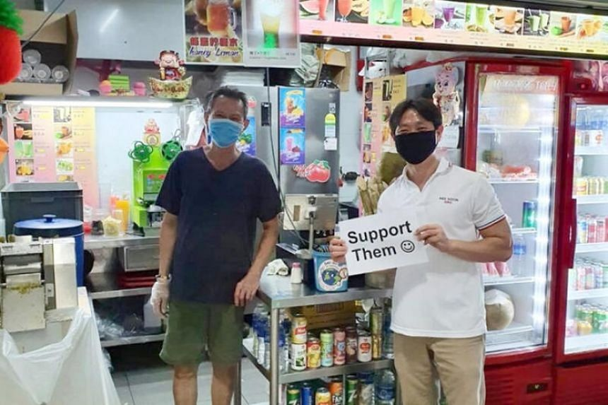 Nee Soon GRC MP Louis Ng is being investigated for not applying for a permit before he visited hawkers with a placard.