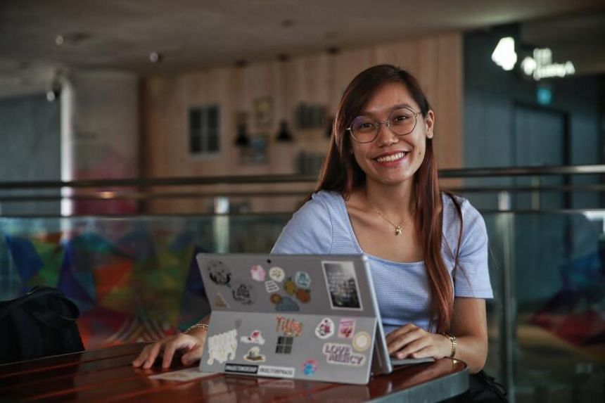 Ms Tiffany Toh found the Polytechnic Foundation Programme to be a good balance between challenging and nurturing.