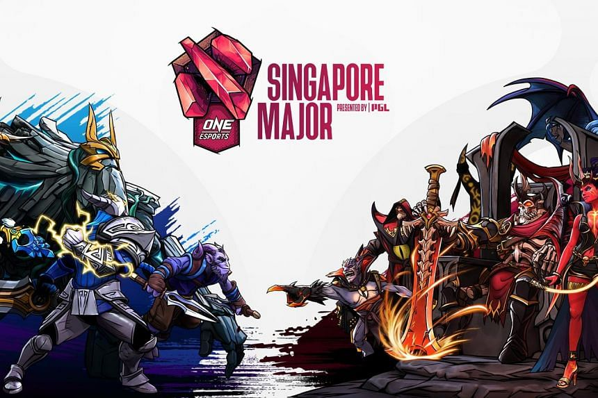 One Esports' Dota 2 Singapore Major will be the second e-sports event hosted by Singapore this year, after the Mobile Legends: Bang Bang M2 World Championship in January.