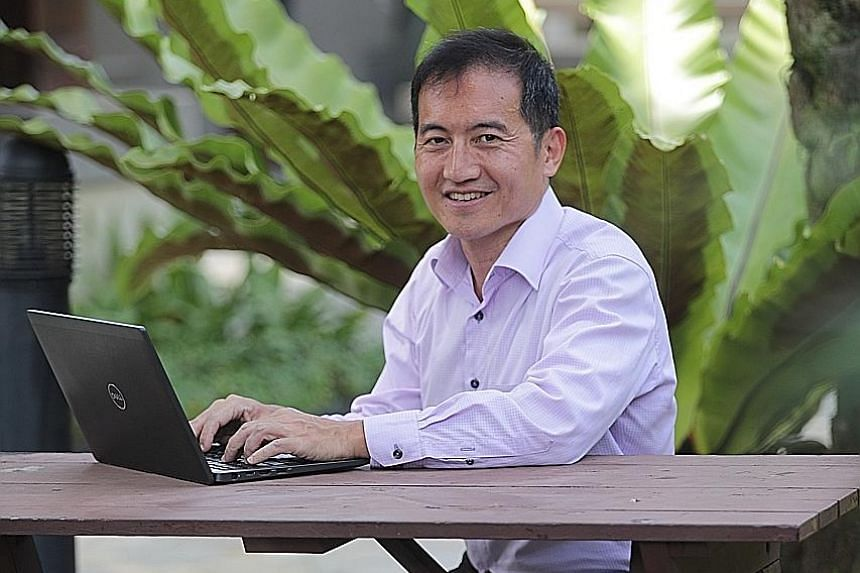 Mr Arnold Lim, who has attained various IT audit and technology certifications. is pursuing a cyber security diploma at Nanyang Polytechnic.
