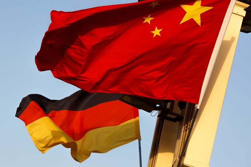 German officials said the warship would not pass within the 12-nautical-mile limits China and rival states claim as territorial waters around contested features in the strategic waterway.