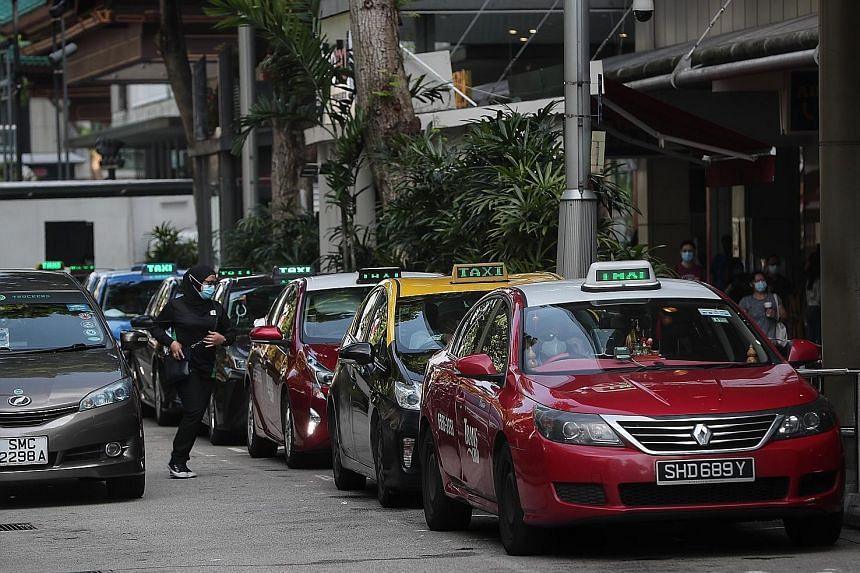 While private cars are required to have appropriate child restraints or booster seats for children under 1.35m in height, taxis are exempt from this. Senior Parliamentary Secretary for Transport Baey Yam Keng said the Transport Ministry will continue