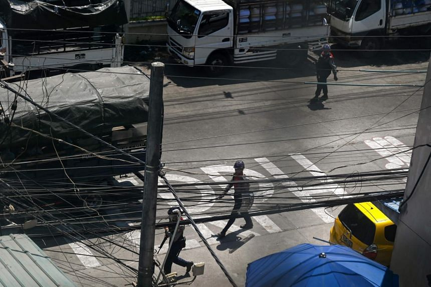 Residents of cities like Yangon reported the power going off in the early afternoon.