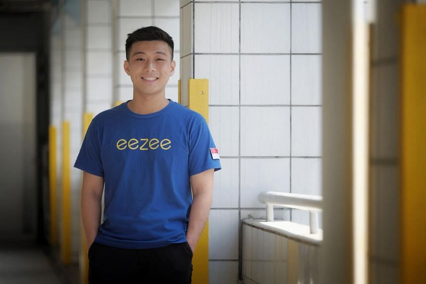Mr Jasper Yap had started five ventures, which all failed, before setting up his present company Eezee.sg.