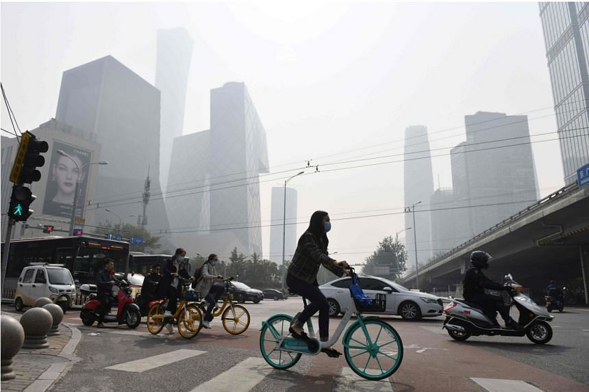 Beijing pledged to reduce carbon intensity by 18 per cent over 2020 levels by 2025.