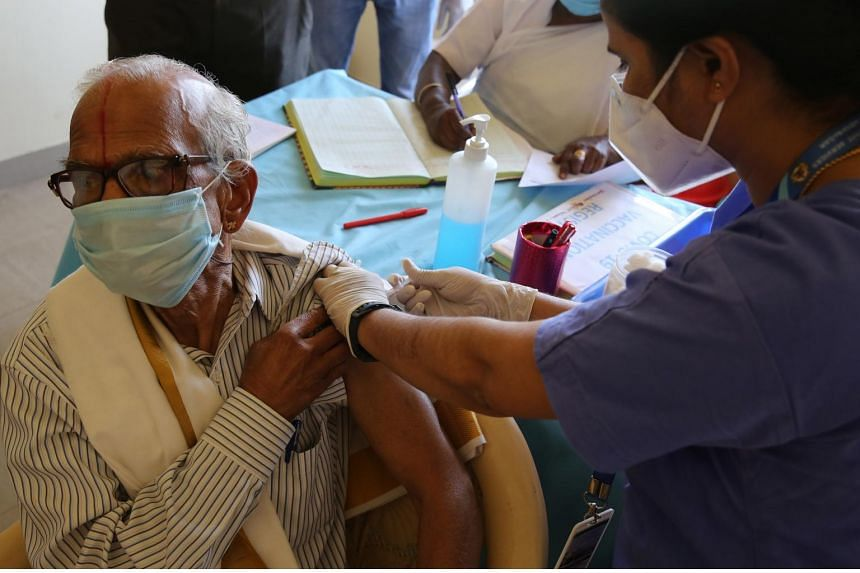 India's Covid-19 vaccination for senior citizens launches to relief and confusion, South Asia News & Top Stories - The Straits Times