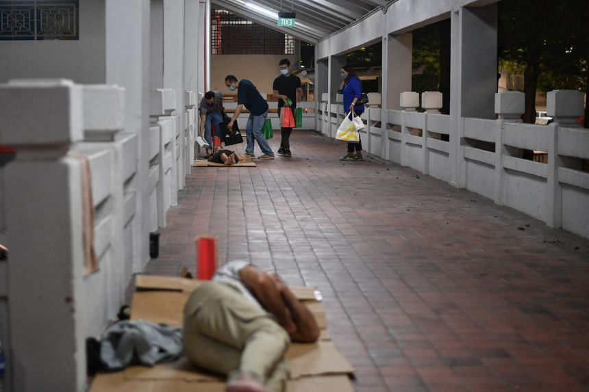 There had been an urgency early last year to provide shelter quickly to rough sleepers due to the Covid-19 pandemic.