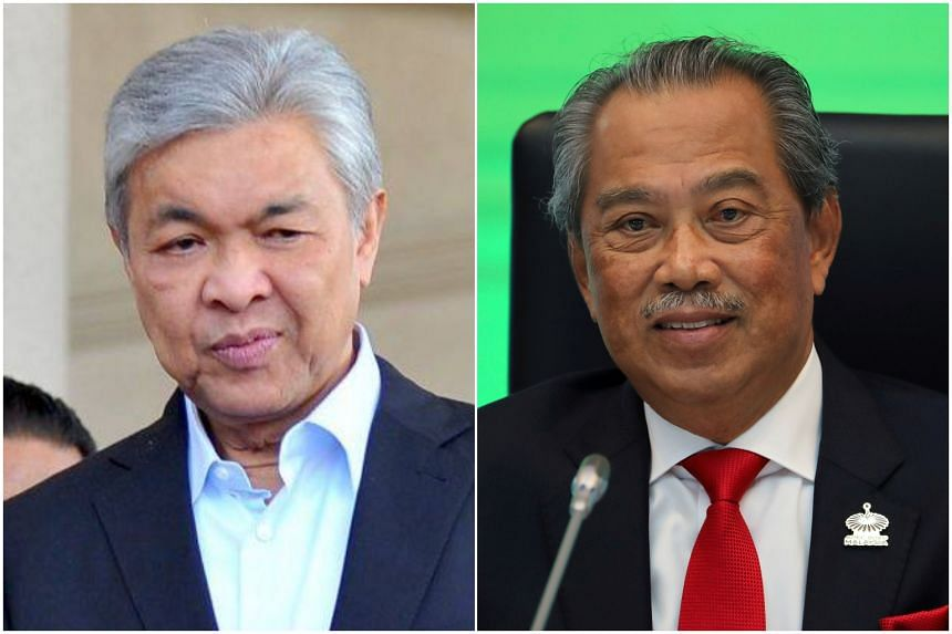 Umno president Zahid Hamidi had written on Feb 26 to Tan Sri Muhyiddin that their pact will end as soon as Parliament is dissolved.