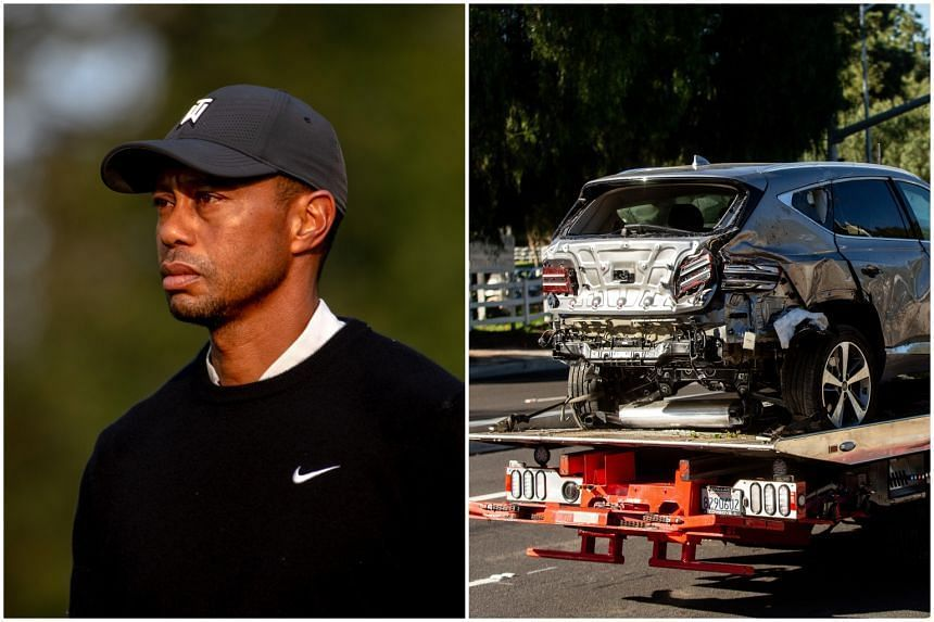 Golfer Tiger Woods was hurt last week in an early-morning, single-car crash.