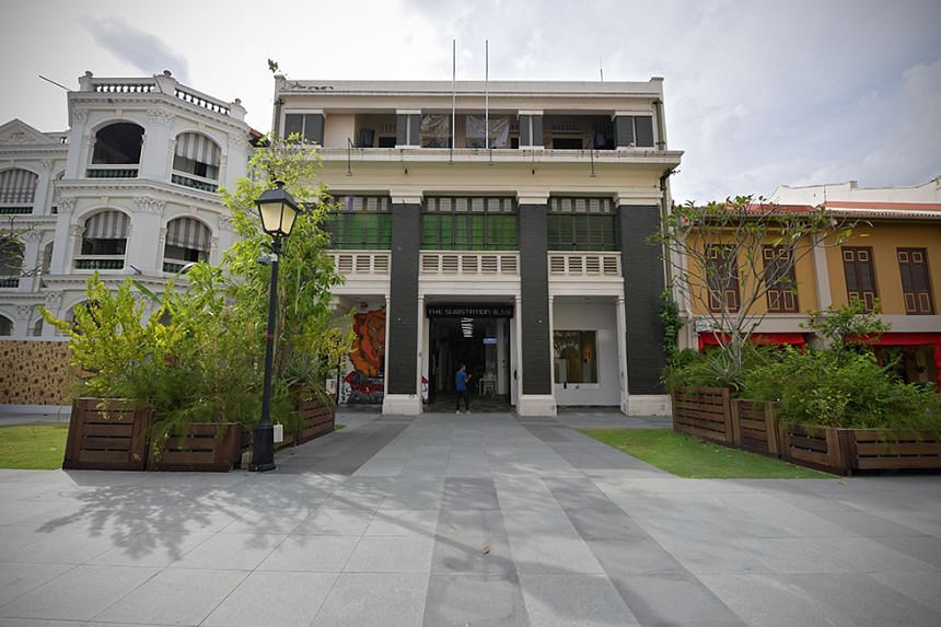 The building housing The Substation in Armenian Street.