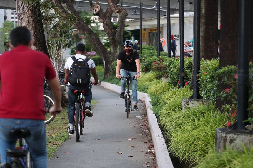 By the end of the year, 28km of cycling paths will be added to some estates.