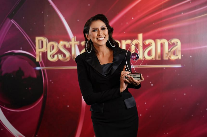 Actress-host Nurul Aini won Most Popular Female Personality, her fifth win in the category.
