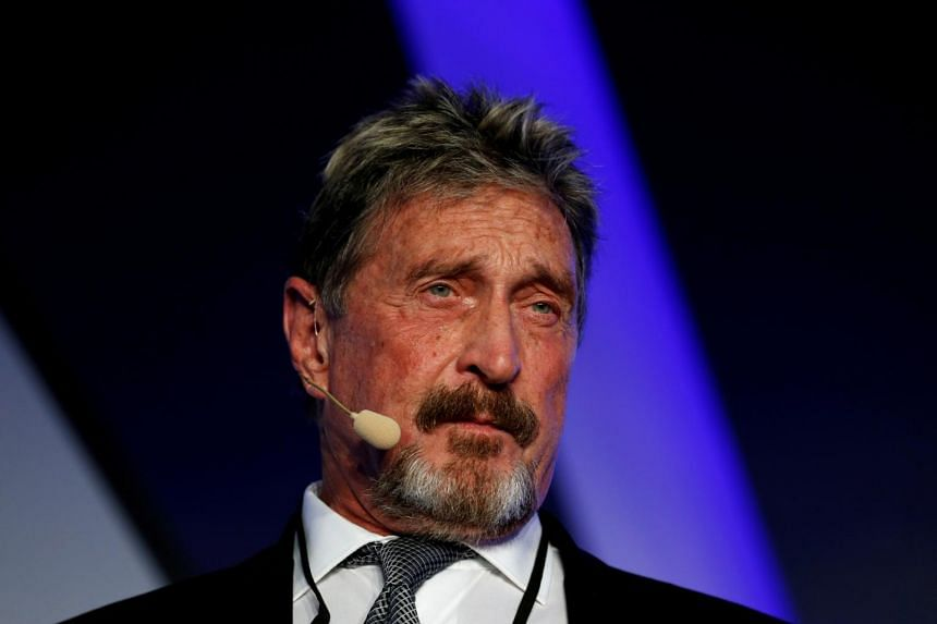 John McAfee and his accomplices reaped more than US$13 million (S$17.45 million) from the fraud and money-laundering schemes.