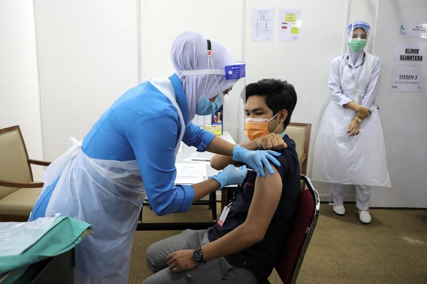 Malaysia kicked off its mass vaccination programme on Feb 24.