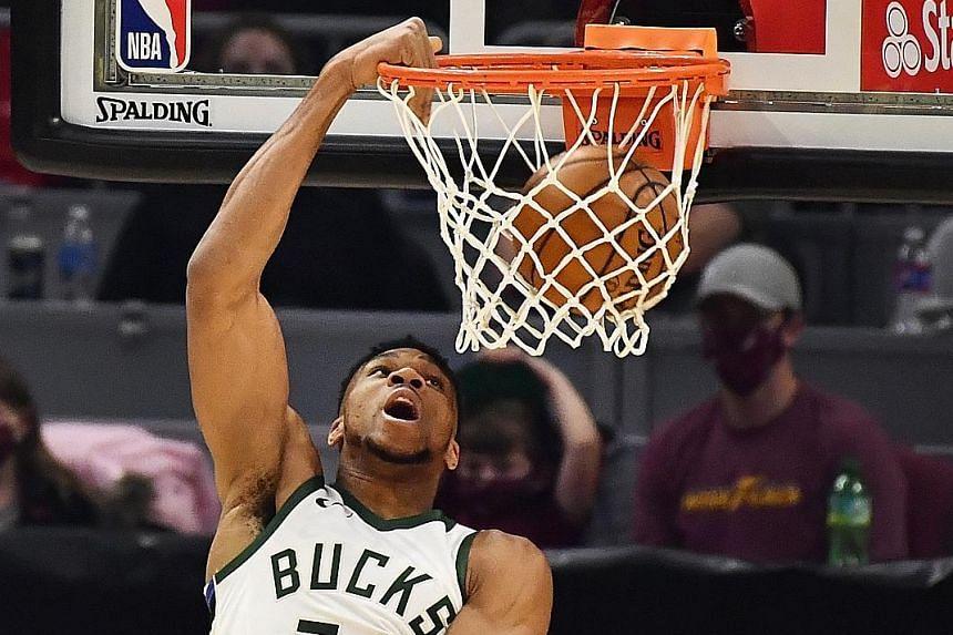 Bucks forward (above)