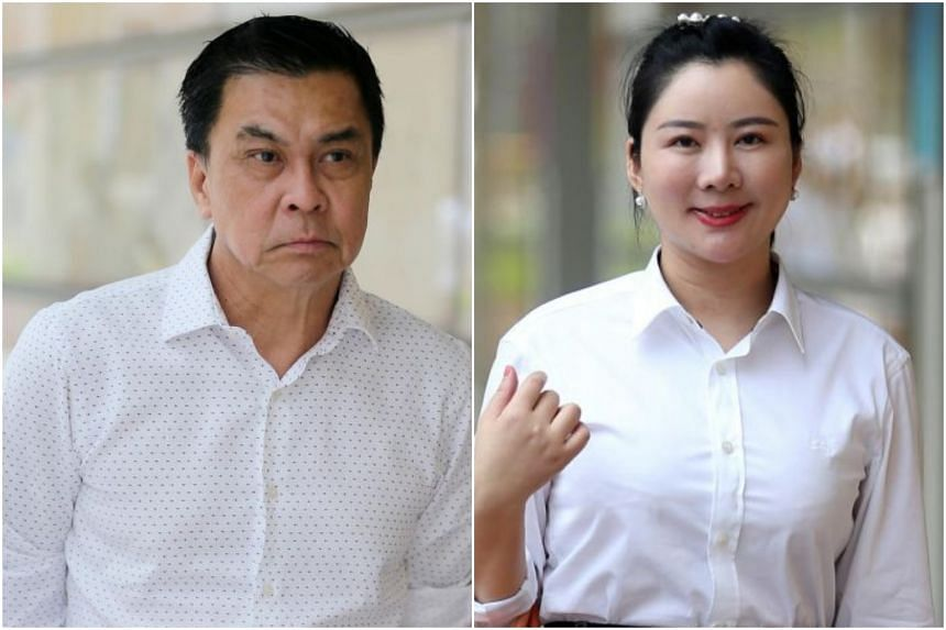 Businessman Toh Eng Tiah met Ms Angelina Jiang in November 2016 and they began a relationship the following month. In 2017, he sued her in the High Court to try to get back $2 million that he had transferred to her through a series of payments during