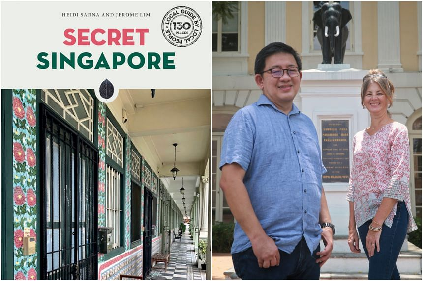 Authors Jerome Lim and Heidi Sarna have collated information about 130 such spots into Secret Singapore.