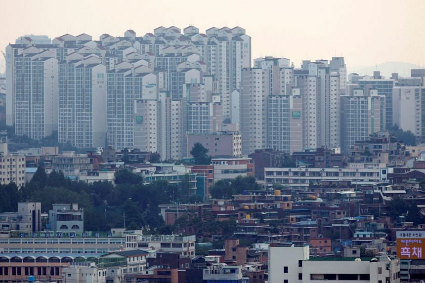 Median apartment prices in Seoul have soared nearly 60 per cent since May 2017.