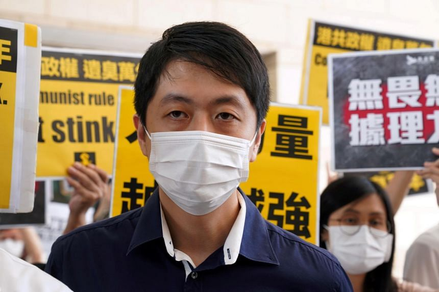 Former Democratic party lawmaker Ted Hui left Hong Kong late last year after facing criminal charges over the 2019 pro-democracy protests.