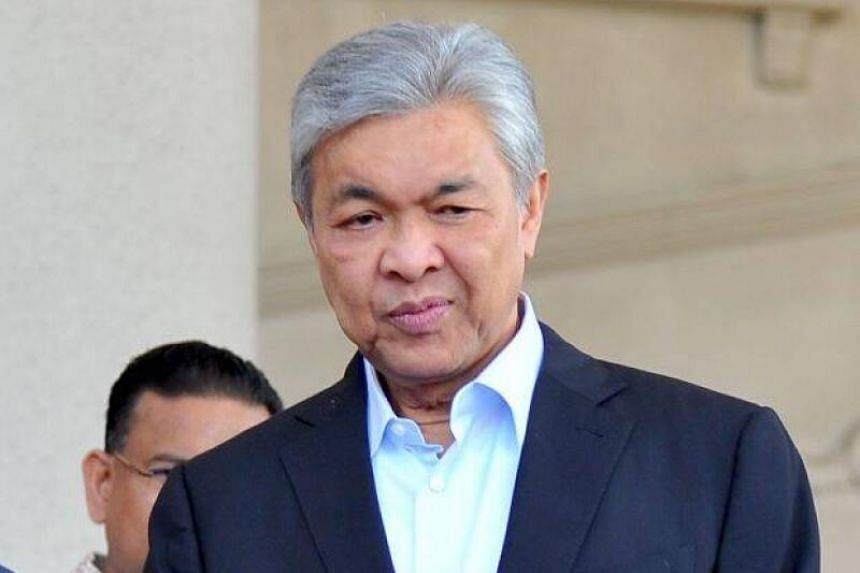 Umno president Ahmad Zahid Hamidi claimed the amended charge was aimed at making his sentence heavier.