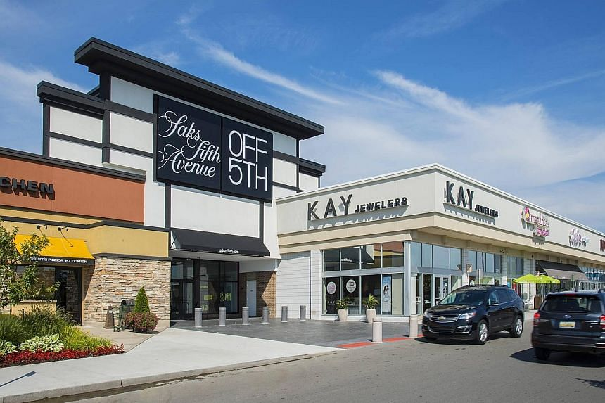Hunter's Square (left) at Farmington Hills and The Shops at Old Orchard at West Bloomfield, both in Michigan, are part of RPT Realty's portfolio of open-air shopping destinations, principally located in top US markets. RPT will own 6 per cent of net