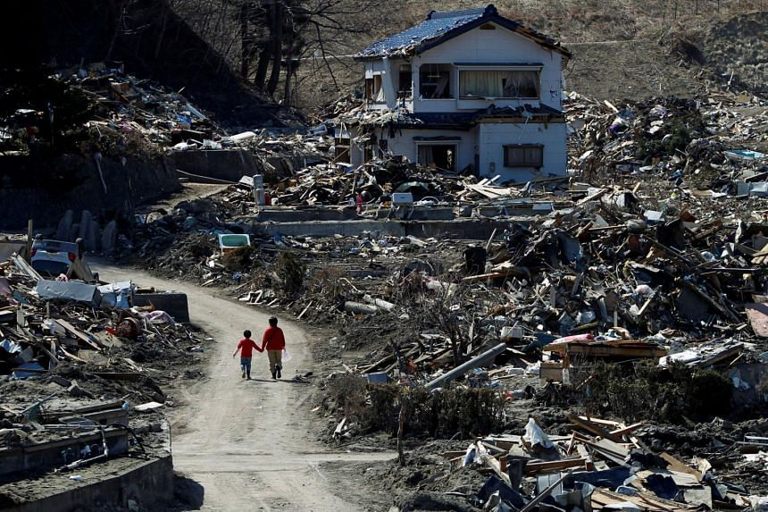 Japan spent 31.3 trillion yen on reconstruction from the earthquake and tsunami.
