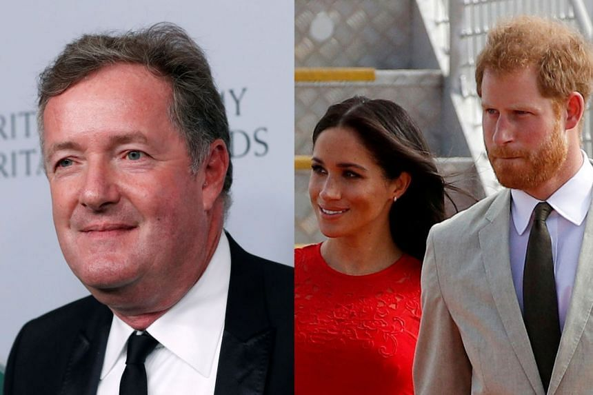 Morgan's (left) remarks about the former royal couple sparked more than 40,000 complaints to Britain's media regulator.
