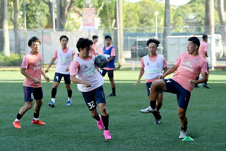 Albirex Niigata have held double sessions almost daily in a bid to ramp up their players' levels.