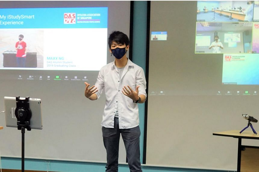 Maxx Ng says the iStudySmart programme had been effective in teaching him the skills he needed to excel in ITE.