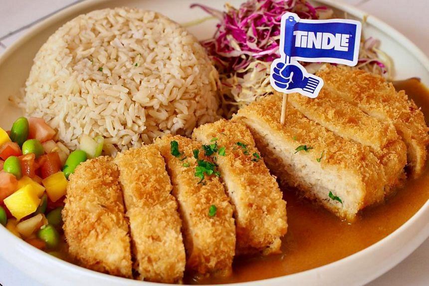 Prive's Tindle katsu curry.