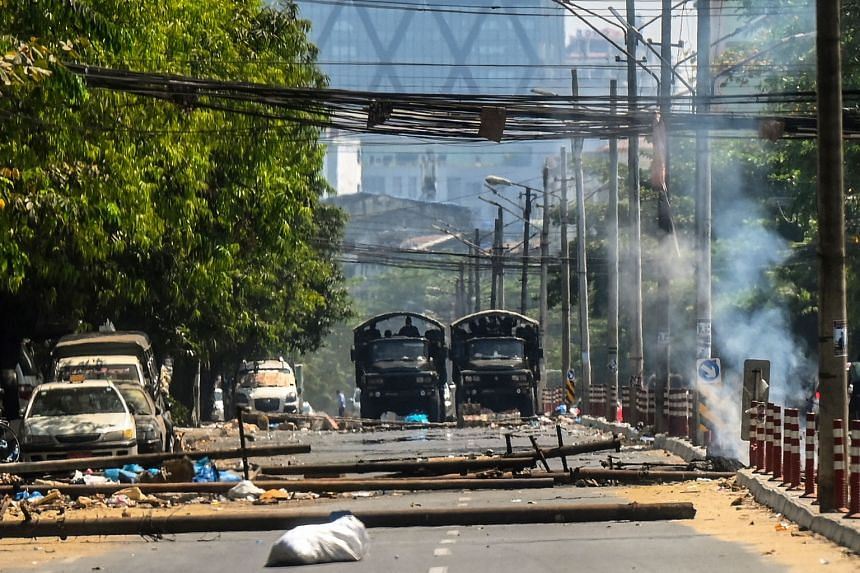 The move comes at a time the army is struggling to contain daily protests against its Feb 1 coup.