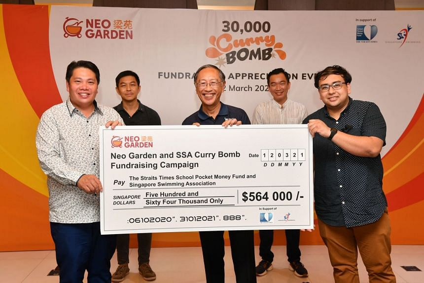(From left) Mr Neo Kah Kiat, Mr Tan Chuan-Jin, Mr Lee Kok Choy, Mr Eric Chua and Mr Zakir Hussain.