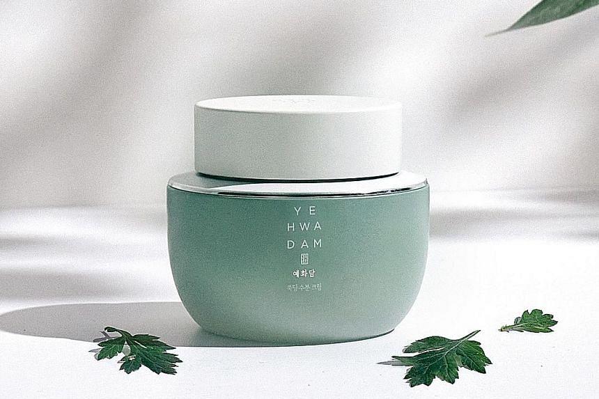 The Face Shop Yehwadam Artemisia Cream.