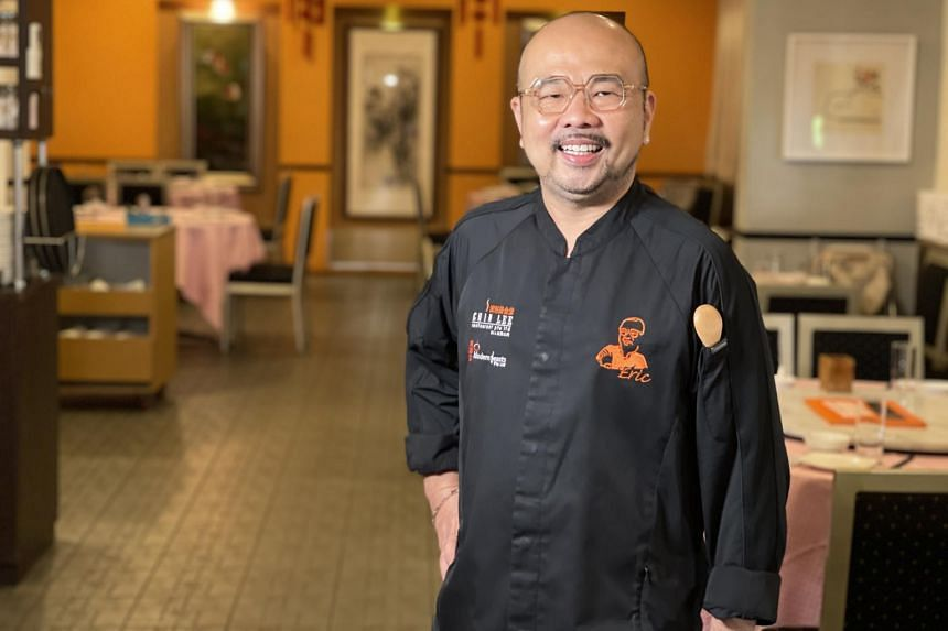 Owner and chef Eric Chua of Chin Lee Restaurant.