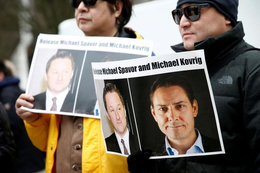 Canadians Michael Spavor and Michael Kovrig have been held in China since late 2018.