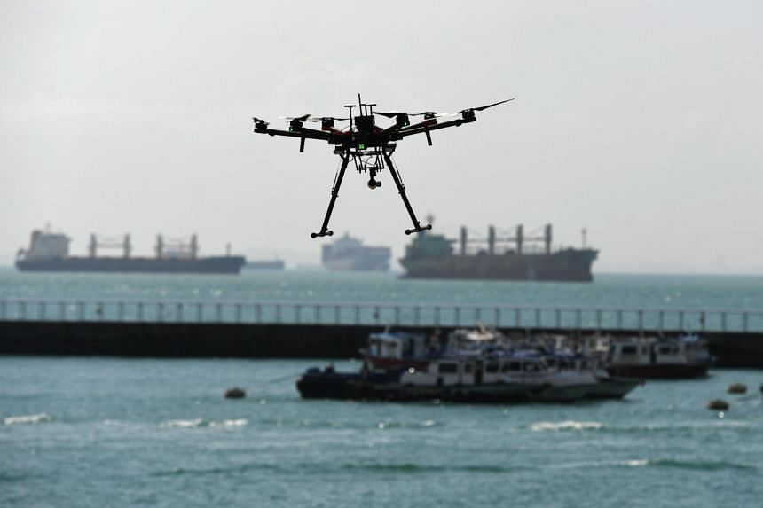 The drone system, called an UAS traffic management system, arose from a call-for-proposals issued by the Ministry of Transport and the Civil Aviation Authority of Singapore.