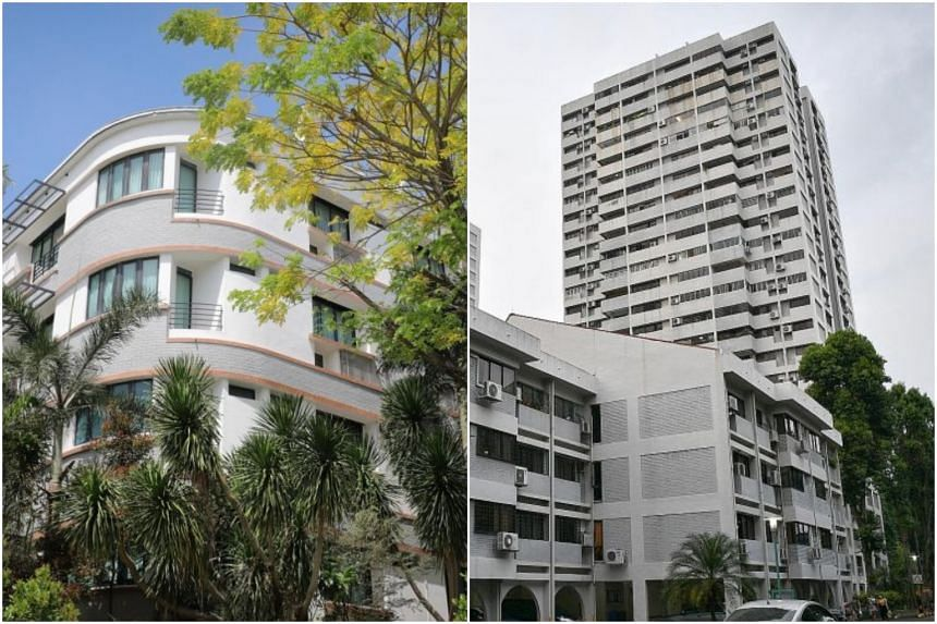 Queen Astrid Gardens near Holland Road and Braddell View estate.