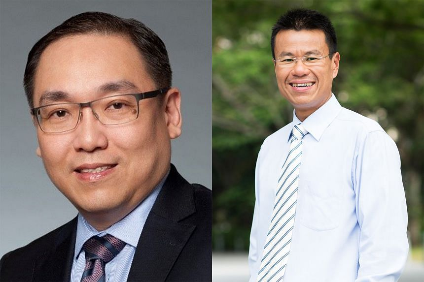 WongPartnership's Mr Lam Chung Nian (left) says the proposed changes to the Copyright Act are very substantial, having been rewritten from the ground up, while Singapore Management University law don Saw Cheng Lim says there is much to commend in t