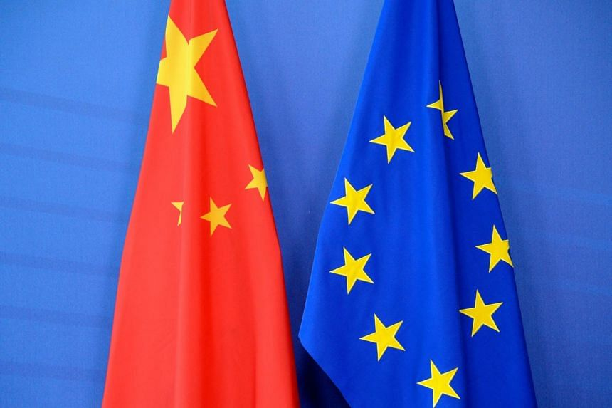 The EU is set to sanction four Chinese officials and one entity, with travel bans and asset freezes, on March 22.