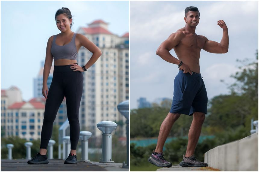 This week's hot bods are financial adviser Joanne Chan and personal trainer Suria Naidu.