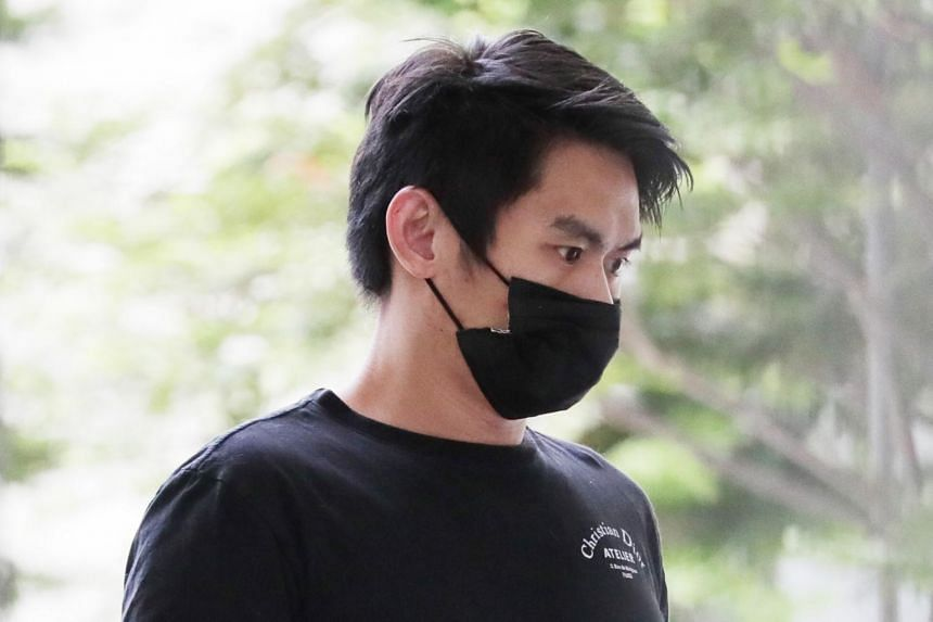 Joshua Ng Weijie assaulted his girlfriend after she told him to go to sleep.