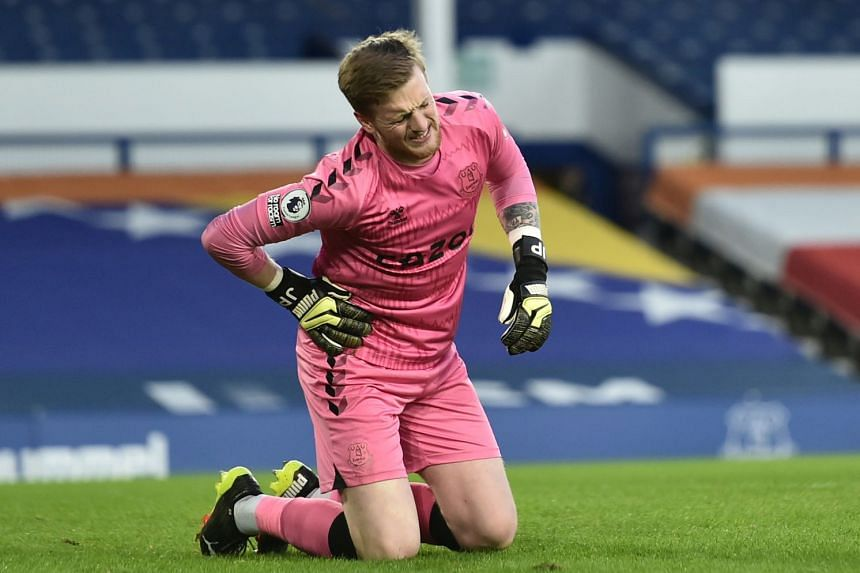 Football: Everton goalkeeper Pickford to miss England World Cup qualifiers,  Football News & Top Stories - The Straits Times