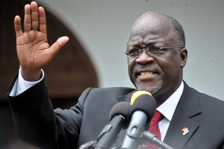 """Mr John Magufuli had died of a """"heart condition"""", which he has suffered from for a decade, at a hospital in Dar es Salaam."""