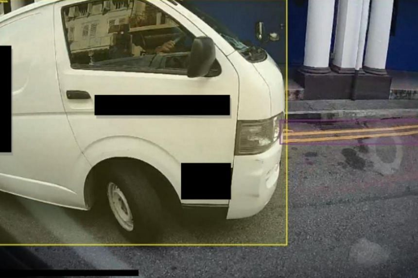 Parking on double yellow lines is among the offences URA hopes to detect during the trial.