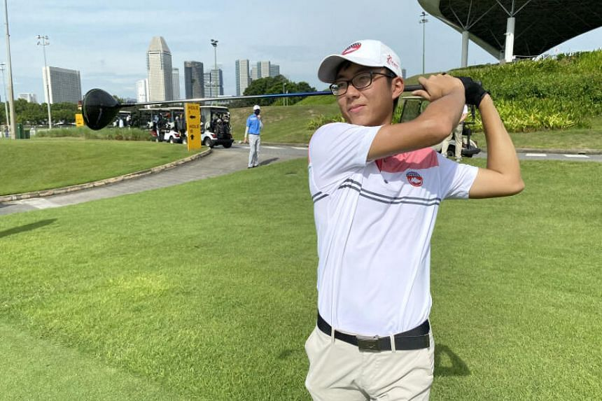 The announcement of the series comes as boost for amateur golfer Ryan Ang.