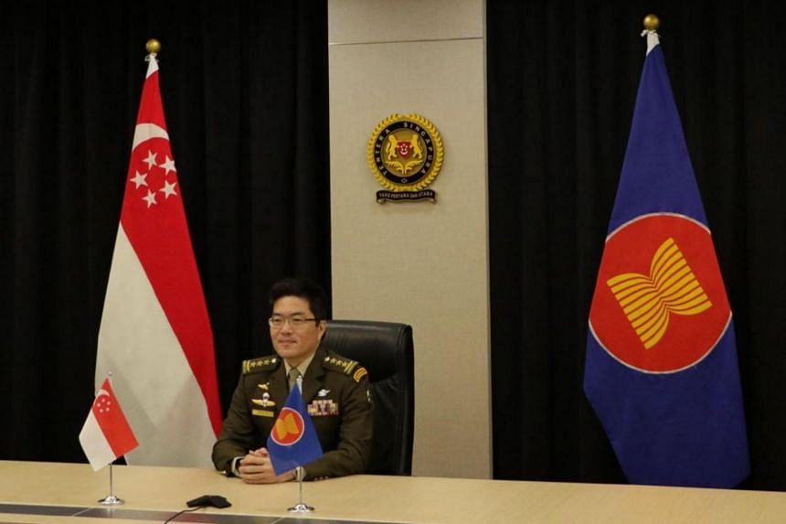 Singapore was represented by Chief of Defence Force, Lieutenant-General Melvyn Ong, who expressed grave concern over the situation in Myanmar.